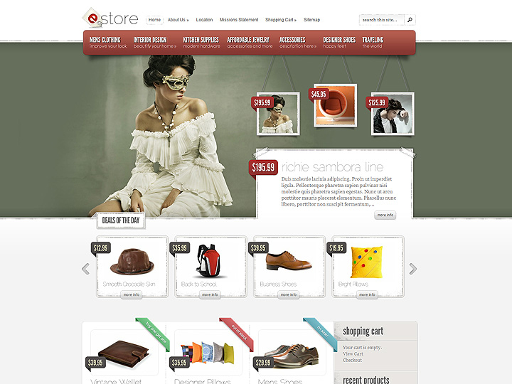 eCommerce Website Designs