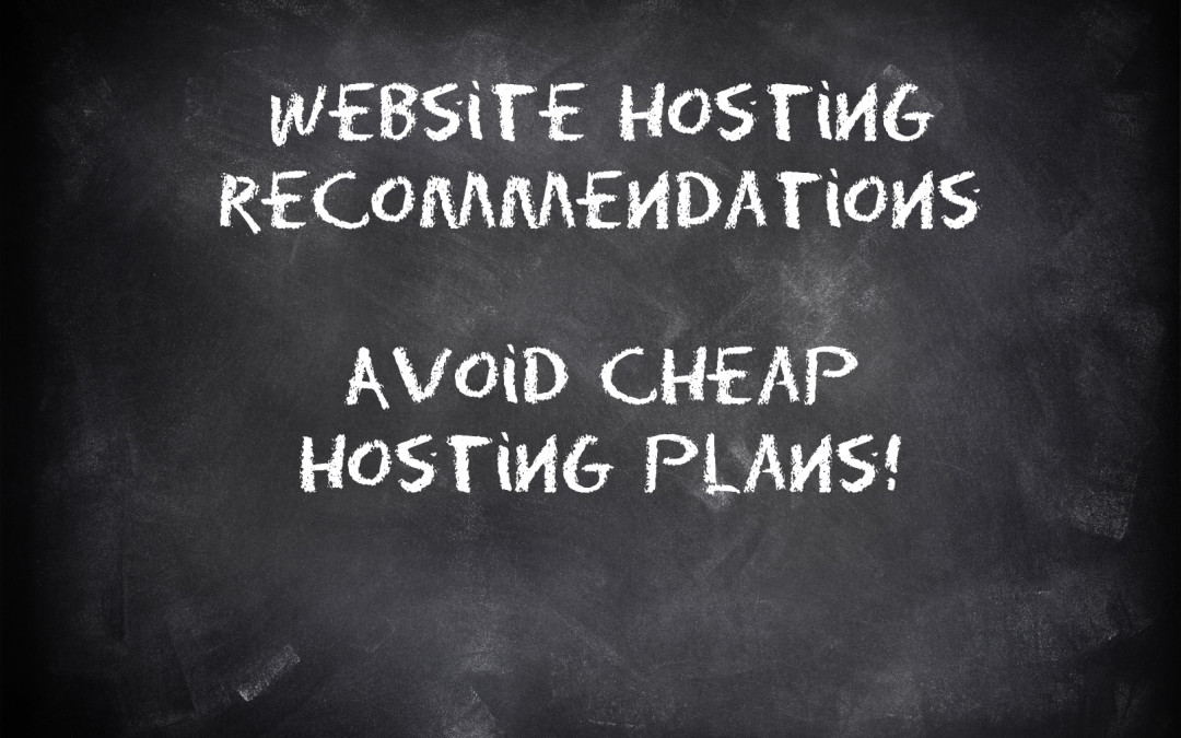 Website Hosting Recommendations