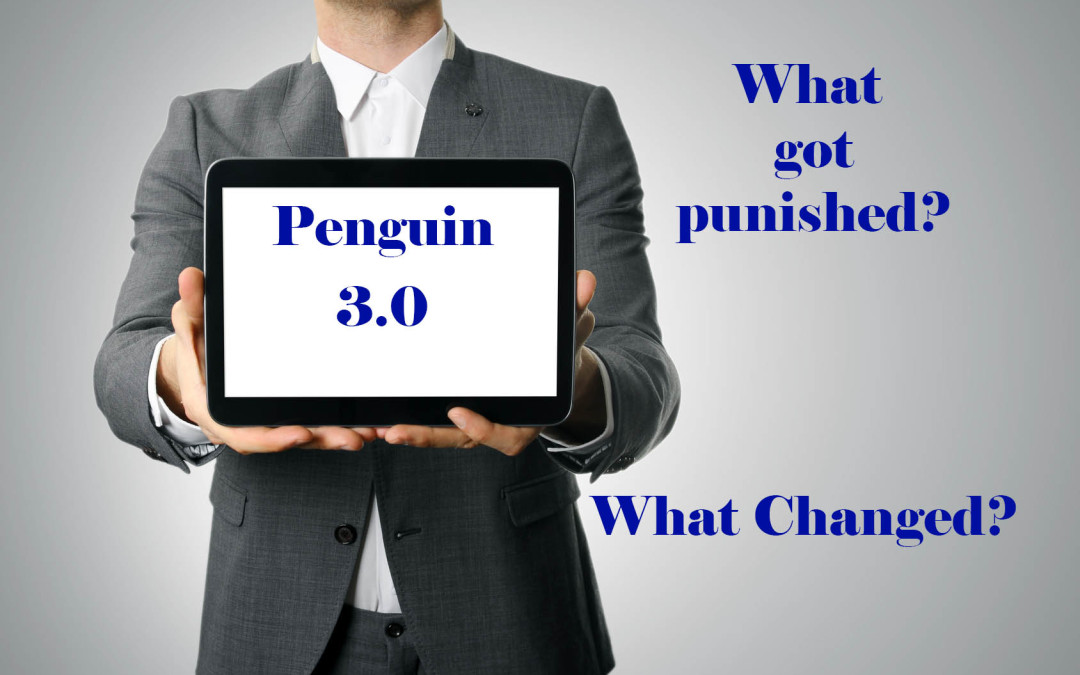 Penguin 3.0 – Impact on SEO